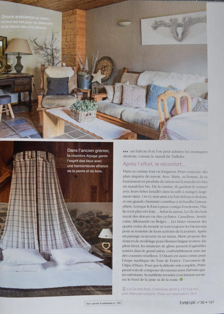 Clé des Bois chambres d'hôtes Bourg d'Oisans